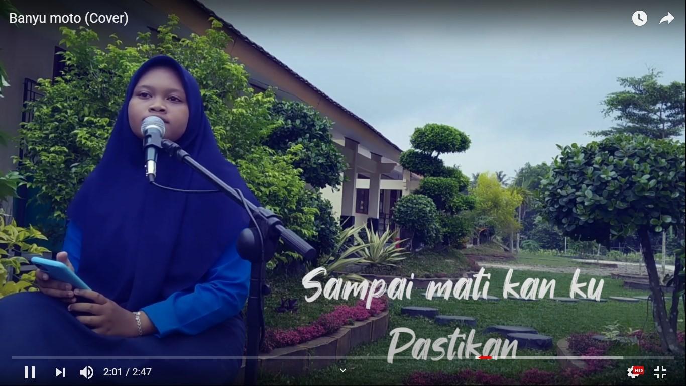 Cover Lagu Banyu Moto Siswi SMK Negeri 1 Sekampung